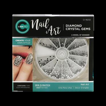 Décors ongles Nail Art Diamond Crystal Gems