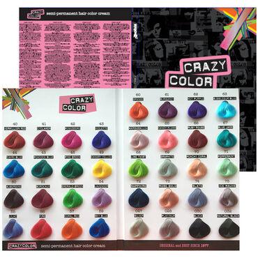Nuancier coloration Crazy Color A4