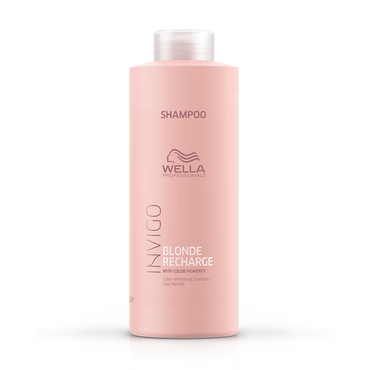 WELLA Invigo Blonde Recharge Shampoo Cool 1l