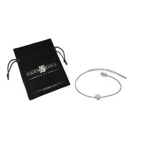 Eugene Perma Bracelet Silver Strass