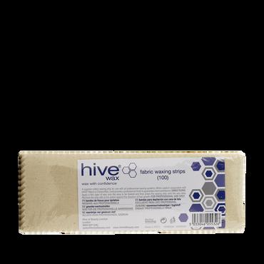 Hive Bandes de tissu pour épilation 100pcs