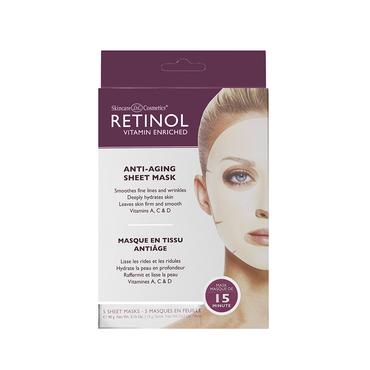 Retinol Masque Anti-Age en Tissu (5 pack)