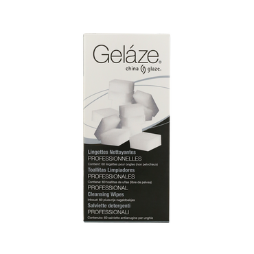 CHINA GLAZE Gelaze Nail Wipes 60pcs