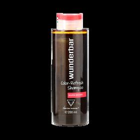 Wunderbar Color Refresh Shampoo Warm Brown 200ml