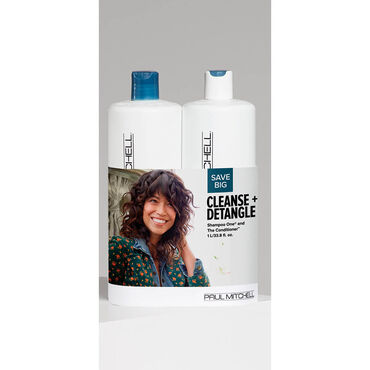 PAUL MITCHELL Duo Cleanse+Detangle 1l