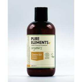 PURE ELEMENTS Shampoing Purifiant Thé Vert 250ml