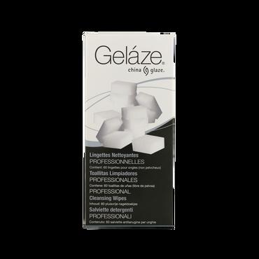 China Glaze Gelaze Nail Wipes 60pcs