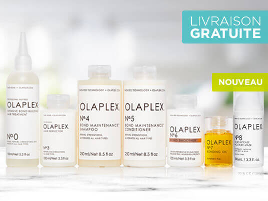 Olaplex 8 est arrivé ! Agissez en profondeur avec le seul système pour salon qui répare les liaisons capillaires. Découvrez OLAPLEX, la molécule qui a révolutionne le soin pour les cheveux.